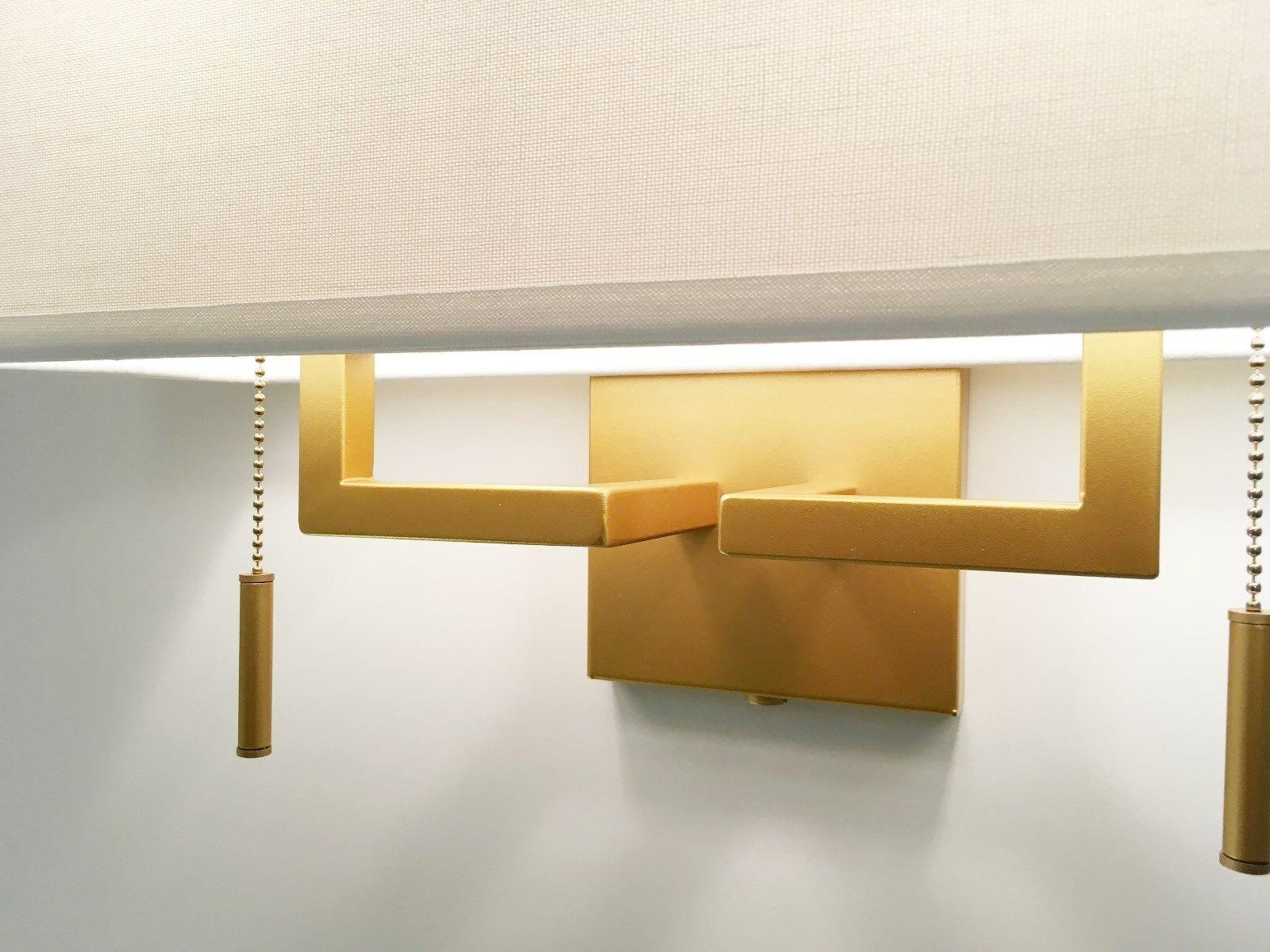 Matte Ant.Gold Modern Sconce Fixture Shade,