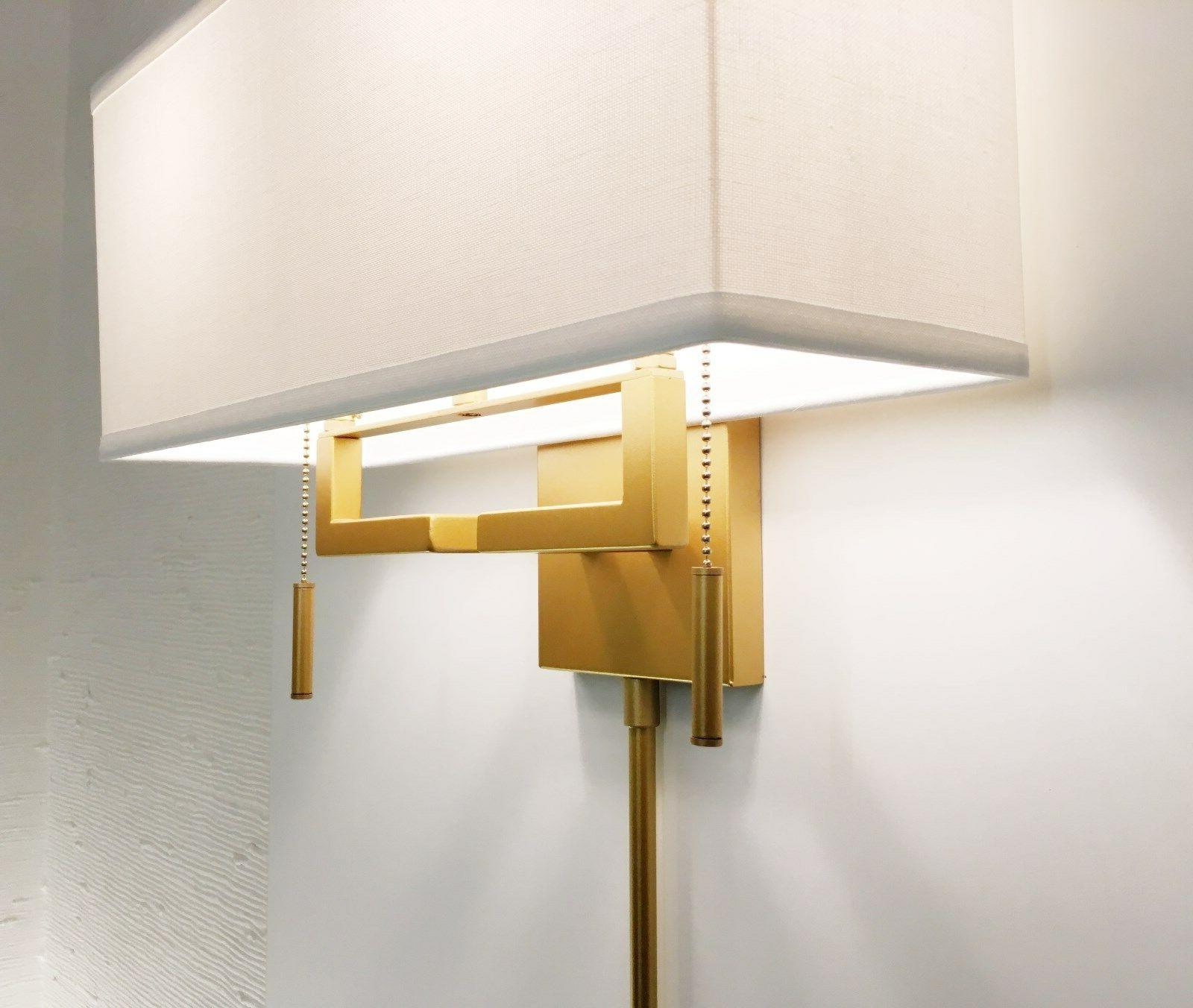 Matte Ant.Gold Modern Wall Sconce