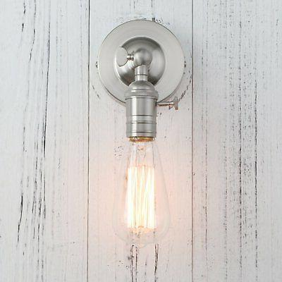 Permo Single Socket 1- Wall Sconce Lighting with On/Off