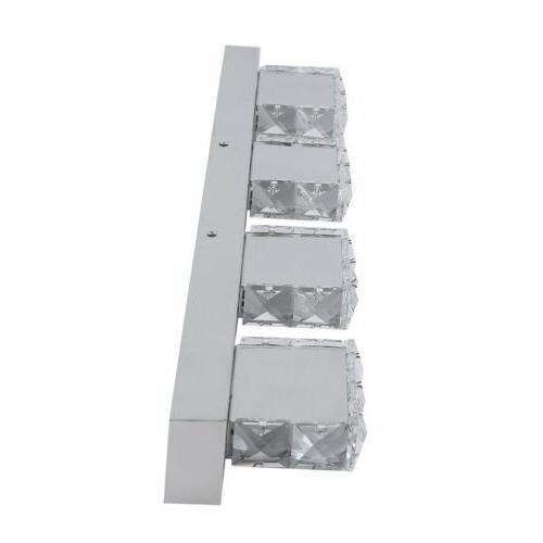 Mirror Front Sconce Crystal AQ