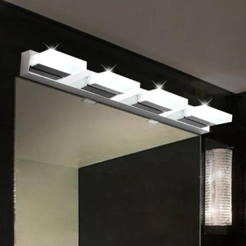 Mirror Front Light Fixture Sconce Lamp Modern LED Crystal Wa