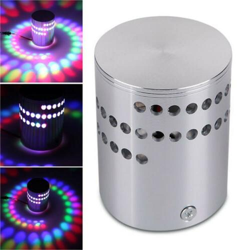 Moder 3W LED Wall Fixture Spiral Lamp Hotel