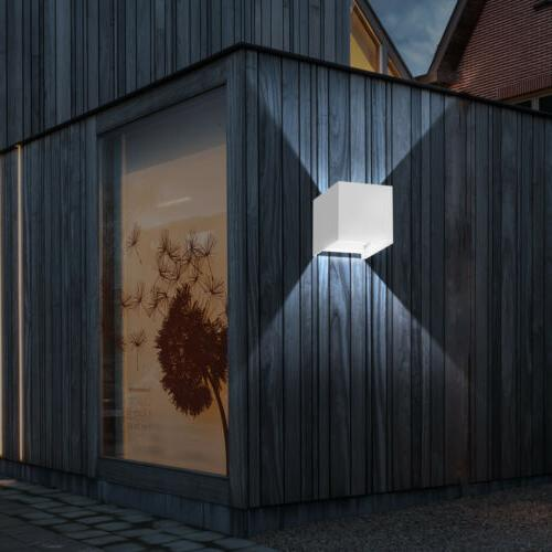 Wall Light Up Down Cube Indoor Lighting