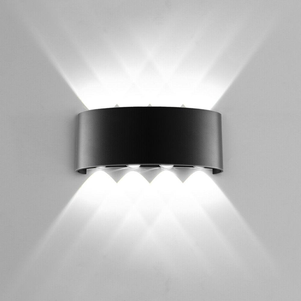 LED Wall Light8W Dual Head Sconce Lamp Light Fixture Outdoor