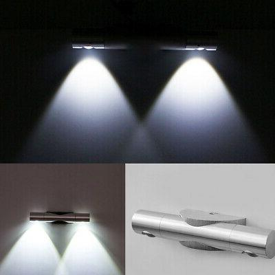 Double-headed LED Wall Sconce Light Corridor Living Room Bed