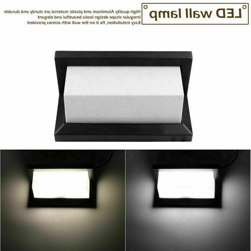 Modern Double Side LED Wall Landscape Sconce Lamp Room
