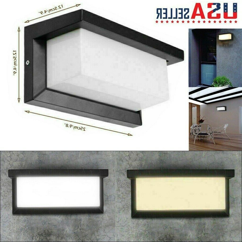 modern double side led wall landscape sconce