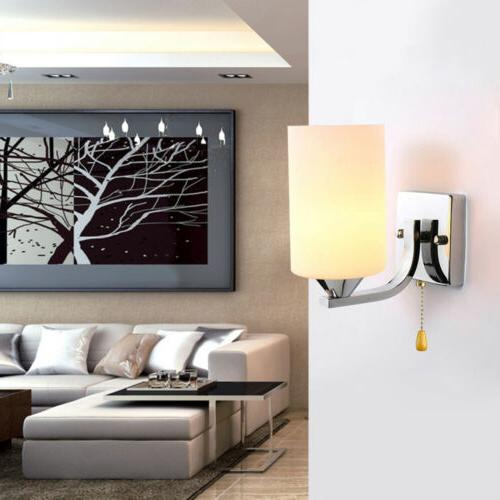 LED Sconce Lamp Fixture Bedroom Home E14