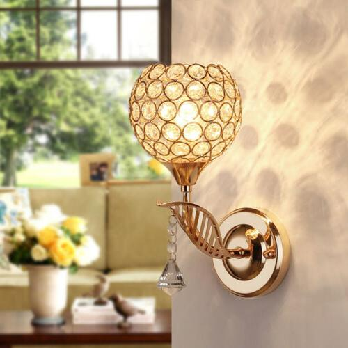 Modern Light Glass Lamp Lighting Fixture Bedroom Hallway