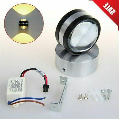 Modern Wall Light LED Double-headed Sconce Fixture Ceiling L