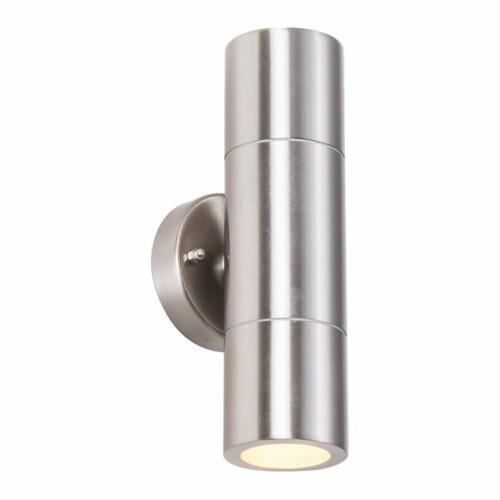 Modern Up Down Wall Light Waterproof Sconce Dual Head Outdoor
