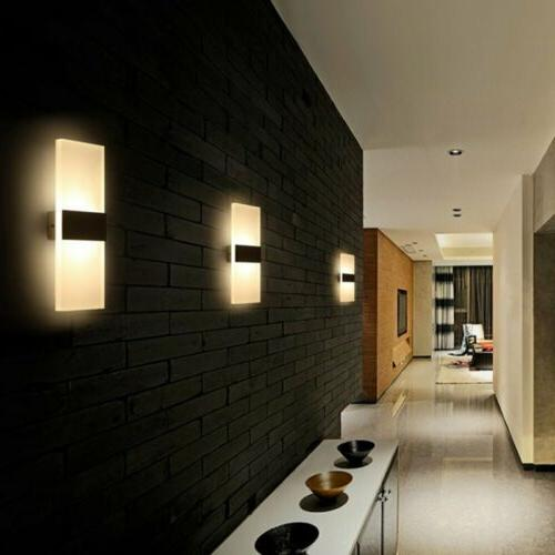 LED Modern Outdoor Sconce Fixture