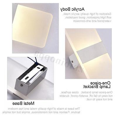 Modern LED Wall Up Indoor Fixture