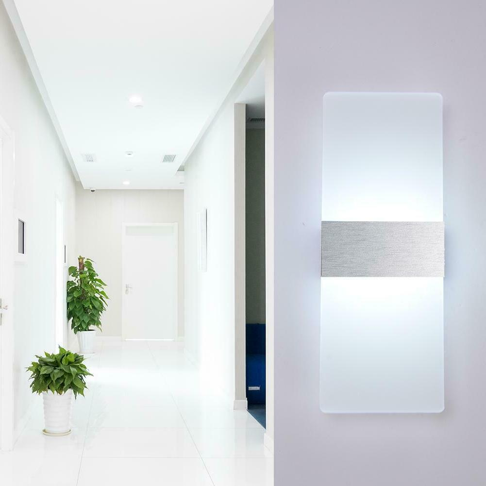 Modern Waterproof Up Cube Sconce Lamp 12W