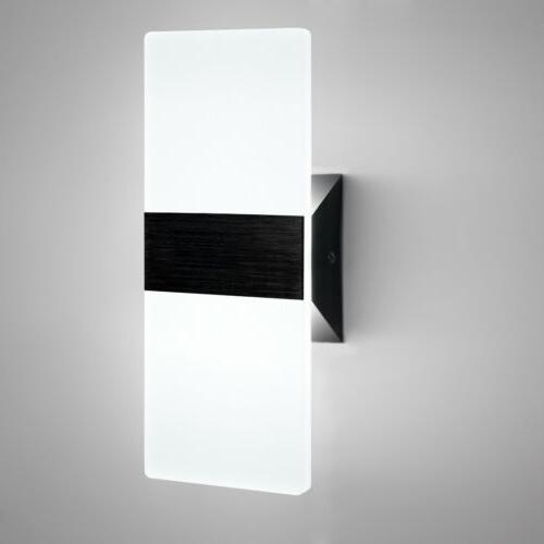 LED Light Sconce with on/Off Wall Lamp