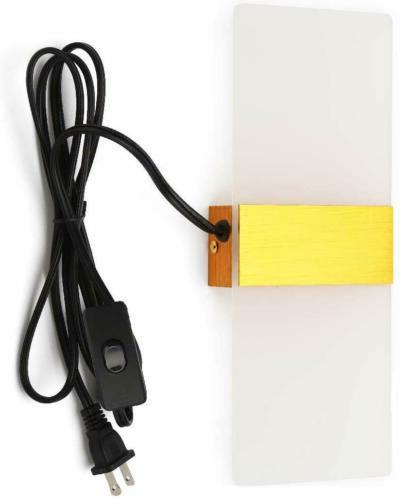 Modern Wall Sconce Plug in Cord Switch Wall Lamp