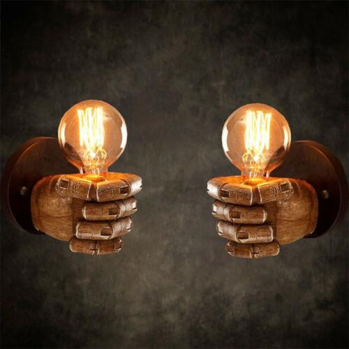 modern retro vintage style wall sconce lamp