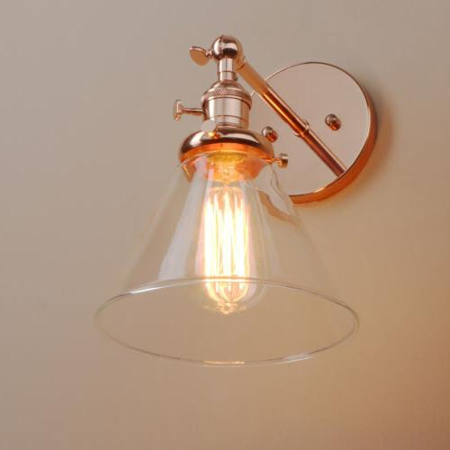 Light Sconce Lamp Shade Integrated