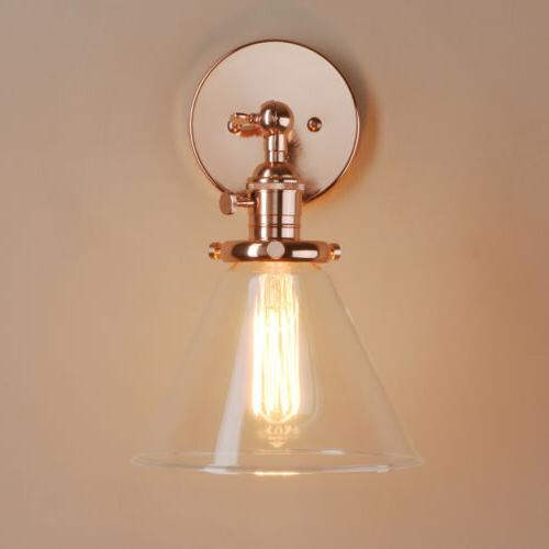 Modern Vintage Filament Wall Shade Integrated