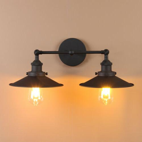 modern vintage industrial wall light iron wall