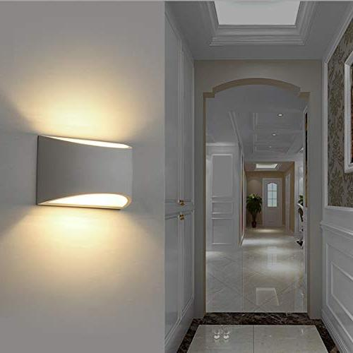 Modern LED Warm White 2700K Wall Lamps for Room Bedroom Conservatory