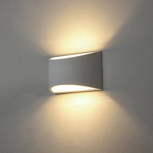 Modern LED Lighting Fixture Lamps Warm White 2700K and Indoor Wall Room Bedroom Hallway