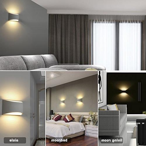 Modern Wall Lighting Fixture 7W Warm White and Wall Lamps for Room Hallway