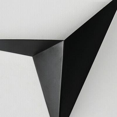 Modern Uplight Wall Sconce Indoor Triangle Metal