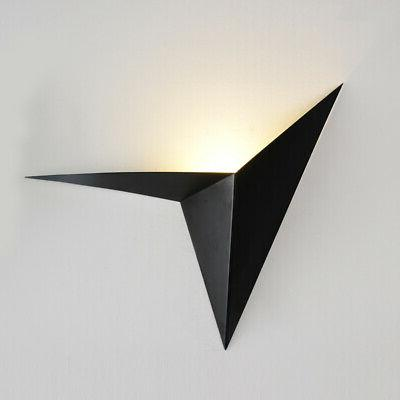 modern white led uplight wall sconce indoor