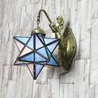Moroccan Star Sconce Mermaid Wall Lamp Light Antique Bronze