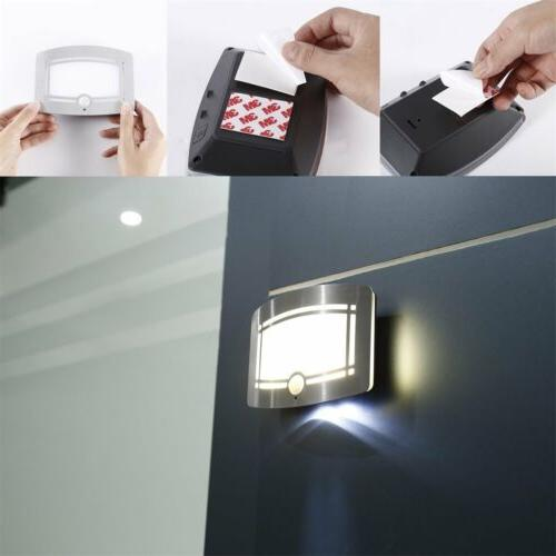 Motion Sensor Light Battery Wall Sconce