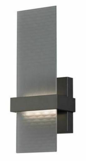 Tech Lighting Mura Wall Sconce FR bz-LED  Bronze w/ frosted