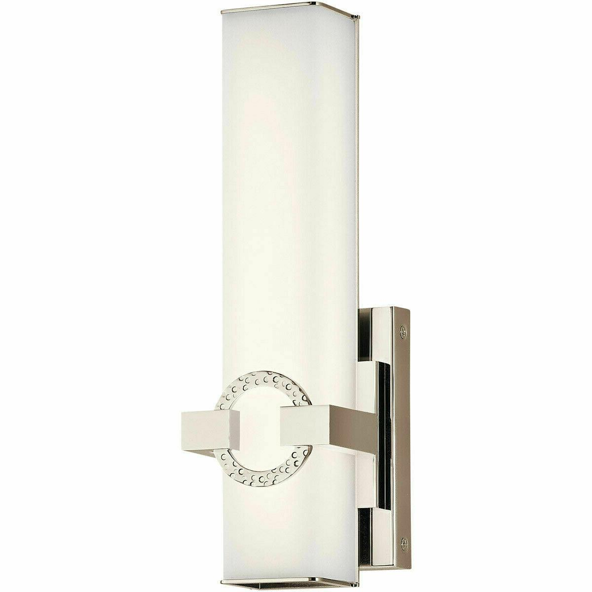 new 45876pnled bordeaux wall sconce light polished