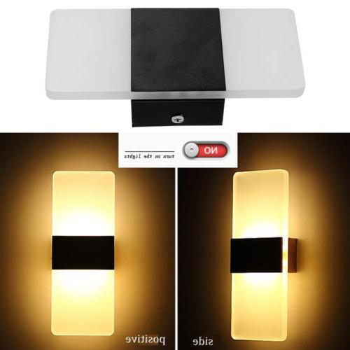 New Modern Wall Up Down Cube Indoor Outdoor LED Light Lighting