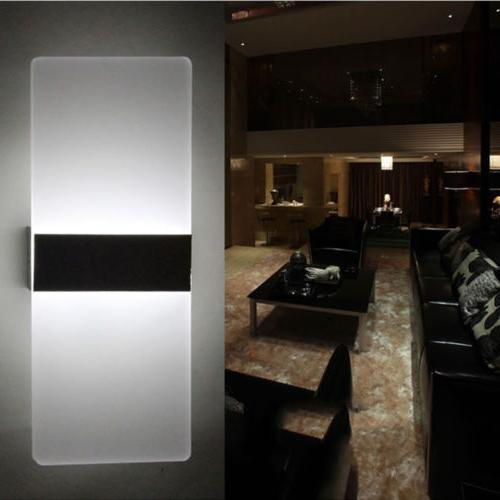 New Up Down Outdoor LED Sconce Lighting Home