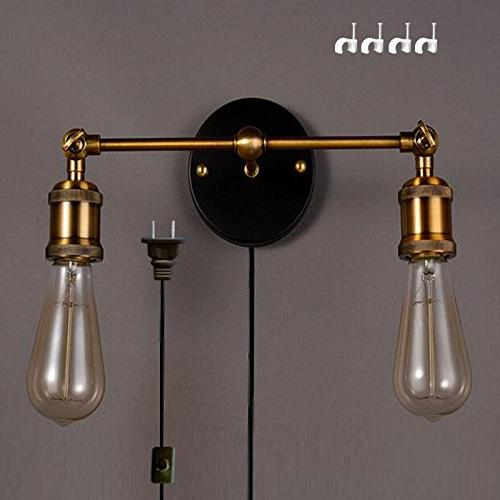 occident double head wall sconces