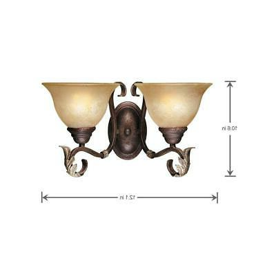 World Imports Tradition Collection 2-Light Wall Sconce