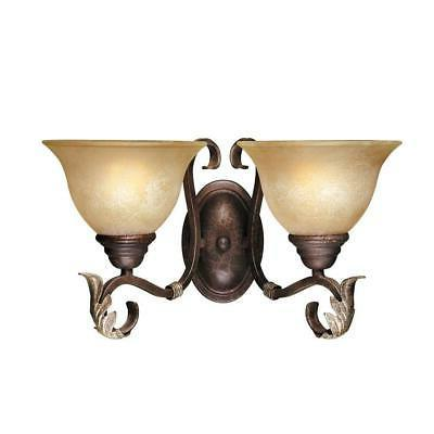World Imports Olympus Tradition Collection 2-Light Wall Sconce