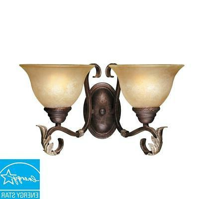 olympus tradition collection 2 light crackled bronze