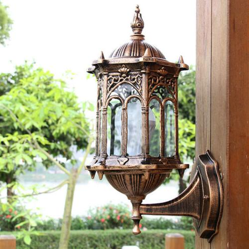 Outdoor Lantern Sconce Light Lighting