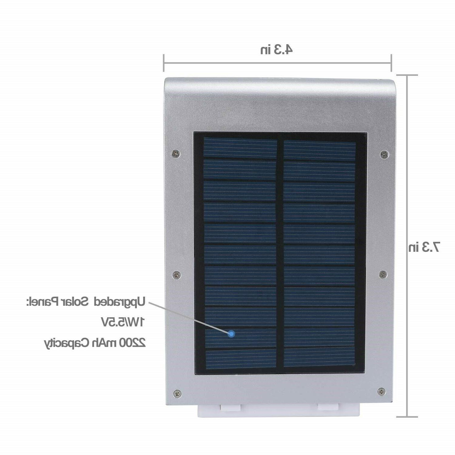 Outdoor Led Wall Fixture Sconce Motion Activated Metal Sensor Garden