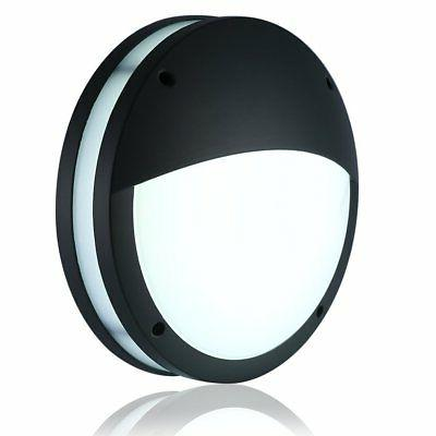 LIGHTESS Outdoor Sconce Modern Wall Light LED Globe Bulkhead