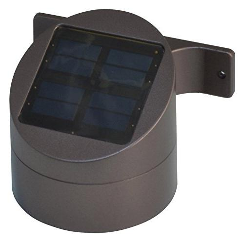 output solar powered wall mount