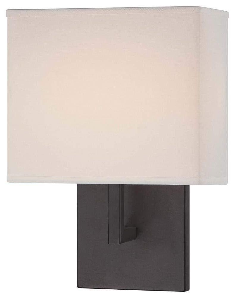 George Kovacs P470-617 Bronze 1 Light Modern Wall Sconce