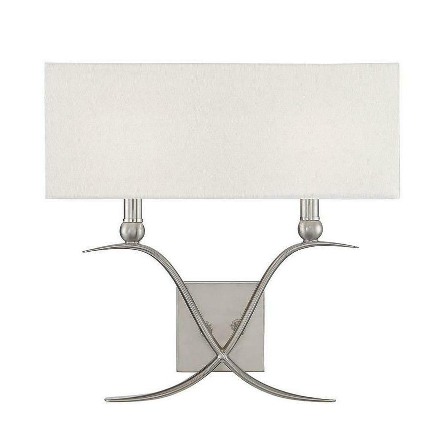 Payton Satin Nickel Sconce By House