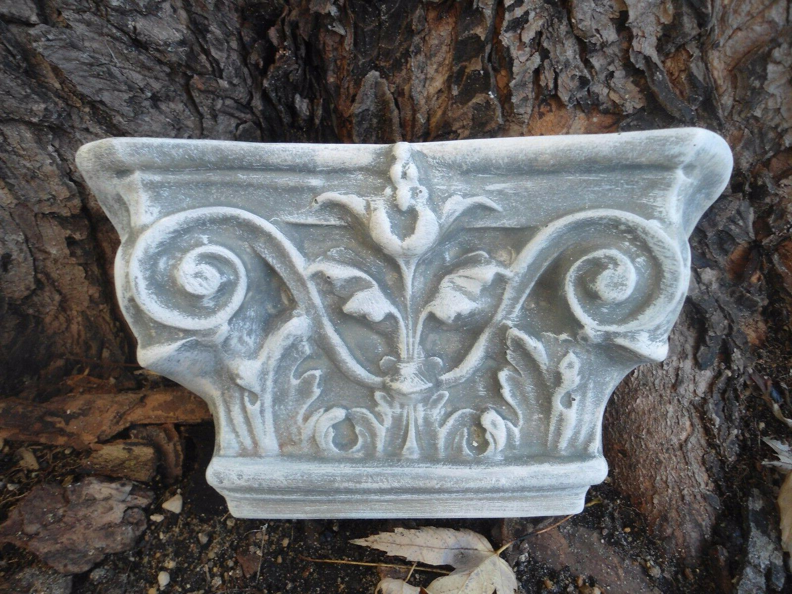 plastic wall sconce mold plaster concrete casting