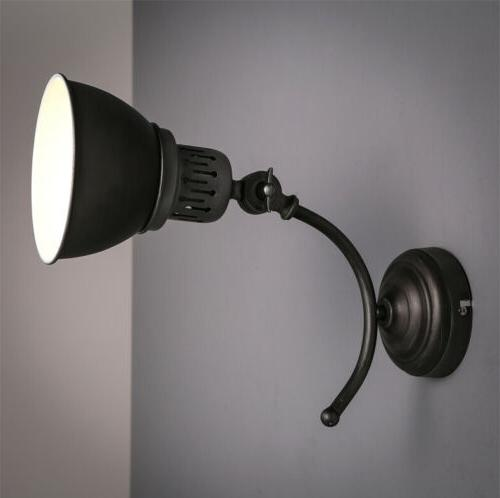 Retro Arm Wall Down Lamp Indoor Lounge Diner Sconce Lighting
