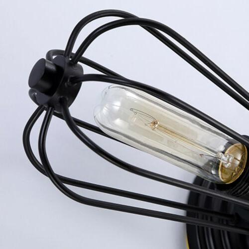 Retro Double Heads Industrial Lamp Wired