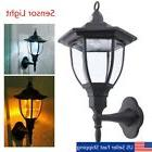 retro exterior outdoor wall motion lamp sconce