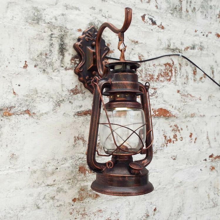retro lantern antique vintage rustic lamp outdoor